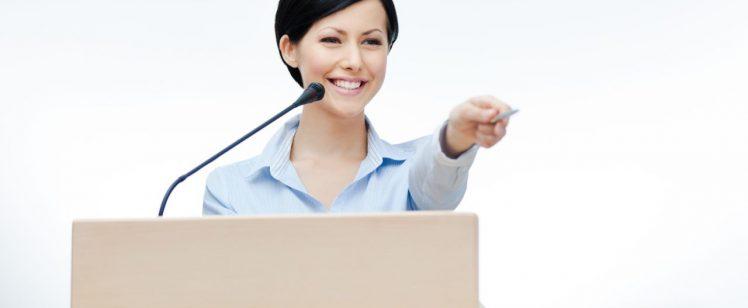 Individual speaker training & coaching