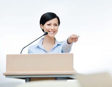 Public speaking coach (Private training)